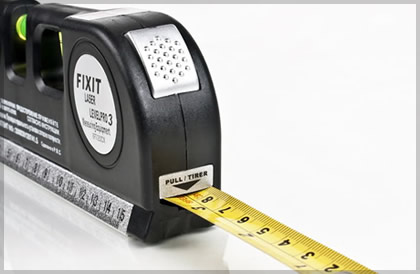 Measuring tape, measuring rule
