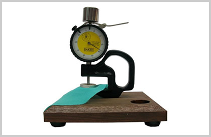 Clamp thickness gauge